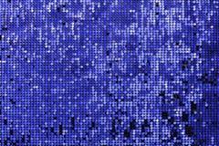 Mosaïque bleue de fond Photo libre de droits
