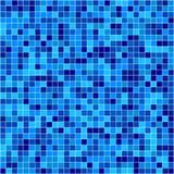 Mosaïque bleue de vecteur Photographie stock libre de droits