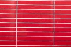 Mosaïque brillante de tuile rouge Photo stock