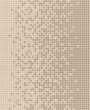 Mosaïque brune en pastel Images libres de droits