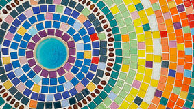 Mosaïque colorée Images libres de droits
