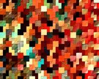 mosaïque colorée de tetris Photo stock