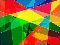 Mosaïque colorée par abstrait Photos libres de droits
