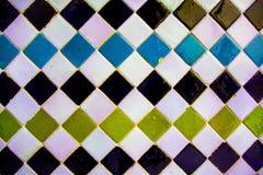 Mosaïque colorée par Arabe images libres de droits