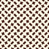 Mosaïque créative répétée de puzzle Conception sans couture géométrique de modèle Texture de surface d'art de pixel Camouflage co Images stock