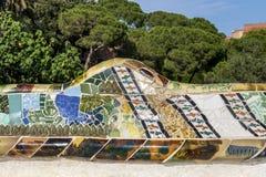 Mosaïque décorative de tuile-tesson image stock