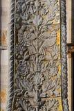 Mosaïque d'or d'éléments de bas-relief Photographie stock