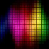 Mosaïque d'endroit de spectre illustration de vecteur