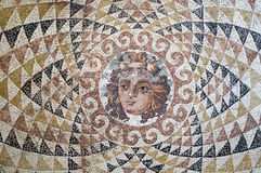 Mosaïque de Dionysus Photographie stock libre de droits