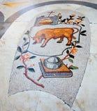 Mosaïque de galerie d'Umberto I à Naples Photos libres de droits