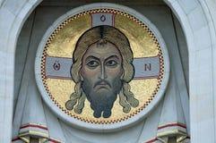 Mosaïque de Jesus Christ Photo libre de droits