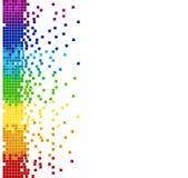 Mosaïque de pixel colorée par verticale Photos libres de droits