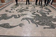 Mosaïque de plancher de Vatican Photo stock