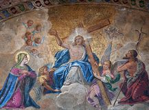 Mosaïque de résurrection de Pâques Photo libre de droits