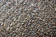 Mosaïque de tuile d'or Image stock