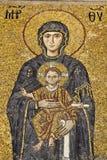 Mosaïque de Vierge Marie Photographie stock libre de droits