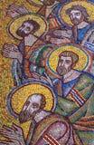 Mosaïque des apôtres de saint Images stock