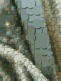 Mosaïque des pièces de monnaie illustration stock