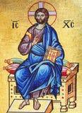 mosaïque du Christ Jésus Image stock