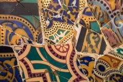 Mosaïque en céramique Image libre de droits