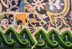 Mosaïque en céramique Photo stock