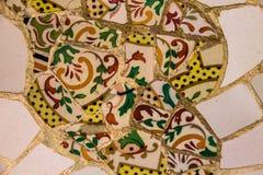 Mosaïque en céramique Photo libre de droits
