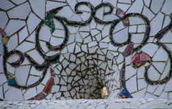 Mosaïque en céramique Photos libres de droits