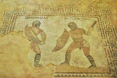 Mosaïque en Chypre Image stock