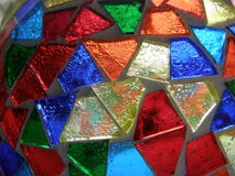 Mosaïque en verre Photos stock