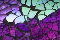 Mosaïque en verre brisée Images libres de droits