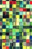 Mosaïque en verre colorée Images stock