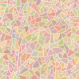 Mosaïque en verre légère colorée. Photos stock