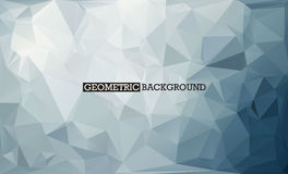 Mosaïque Grey Background bas poly Photographie stock libre de droits