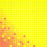 Mosaïque jaune Image libre de droits