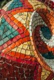 Mosaïque lumineuse de type abstrait Photographie stock libre de droits