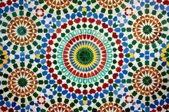 Mosaïque marocaine Photos libres de droits