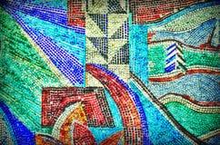 Mosaïque multicolore de couleur Photographie stock libre de droits