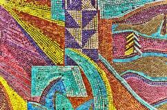 Mosaïque multicolore de couleur Images libres de droits