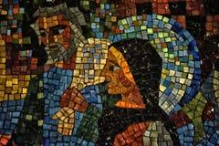 Mosaïque nationale de Washington de cathédrale photographie stock