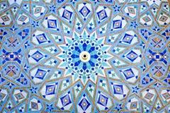 Mosaïque orientale au Maroc Photo stock