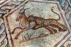 mosaïque romaine Photographie stock