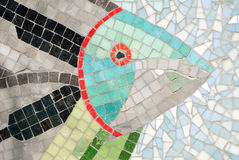 mosaïque sous-marine Images stock
