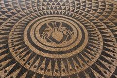 Mosaïque sur Kalithea Images stock