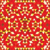 Mosaïque triangulaire BackgroundÂŒ coloré illustration libre de droits