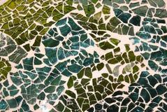 Mosaïque verte Image libre de droits