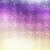 Mosaïque verticale de disco Photo libre de droits