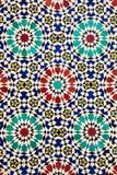 Mosaïques arabes colorées photo stock