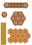 Mosaïques bizantines Images stock
