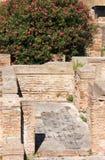 Mosaïques dans Ostia Antica, Italie Images stock