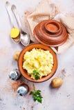 mosad potatis royaltyfri foto